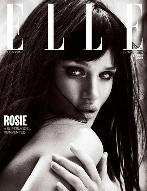 ELLE UK subscriber cover October 2013