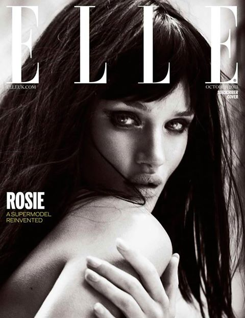 ELLE UK subscriber cover October 2013