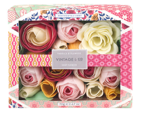 http://www.johnlewis.com/heathcote-ivory-vintage-fabric-flowers-soap-flowers/p2071905