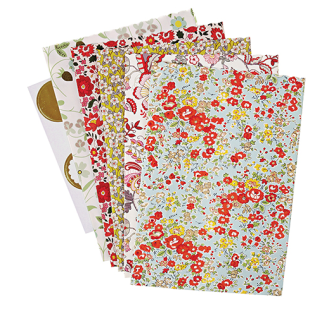 5. Meri Meri Assorted Liberty Print Treat Bags (£9)