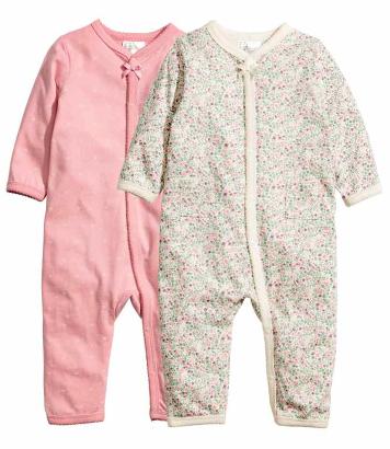 HM Conscious Floral Pyjama set