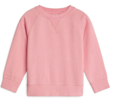 5. I think I can persuade my pink lover to wear a sweatshirt now