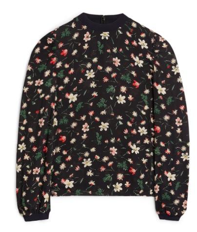 9. Ducharne Floral Crepe Blouse (£59)