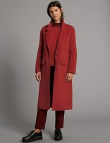 Autograph Wool Blend Coat (£119)