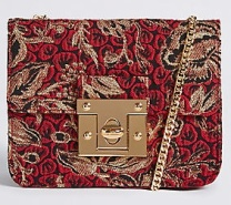 M&S Collection Twist Lock Across Body Bag (£27.50)