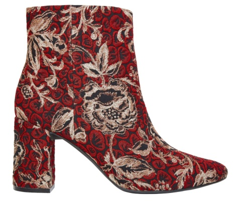 M&S Collection Block Heel Brocade Ankle Boots (£49.50)