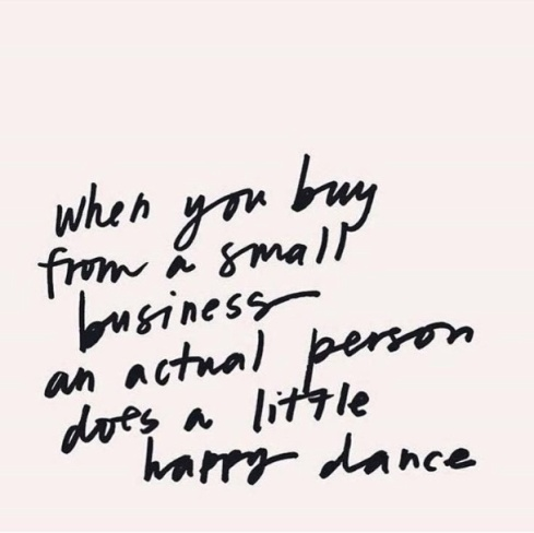 Small Business Happy Dance