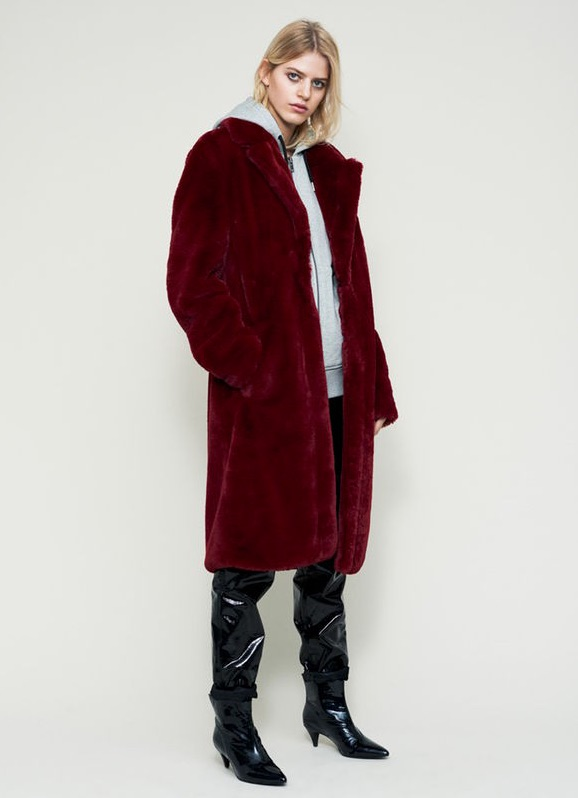 Gestuz Dahla Teddy Coat