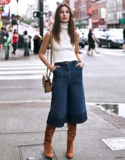Lily Aldridge has Rock 'n' Roll style in her genes & her jeans
