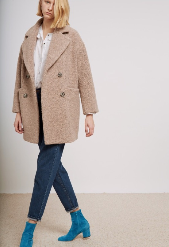 MIH Jeans Ormsby Teddy Coat Style