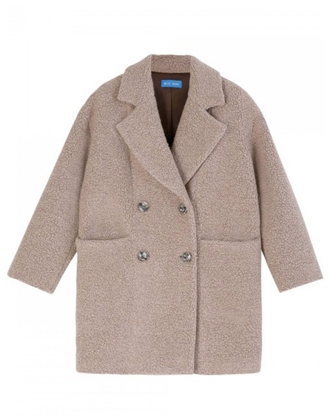 MIH Jeans Ormsby Teddy Coat