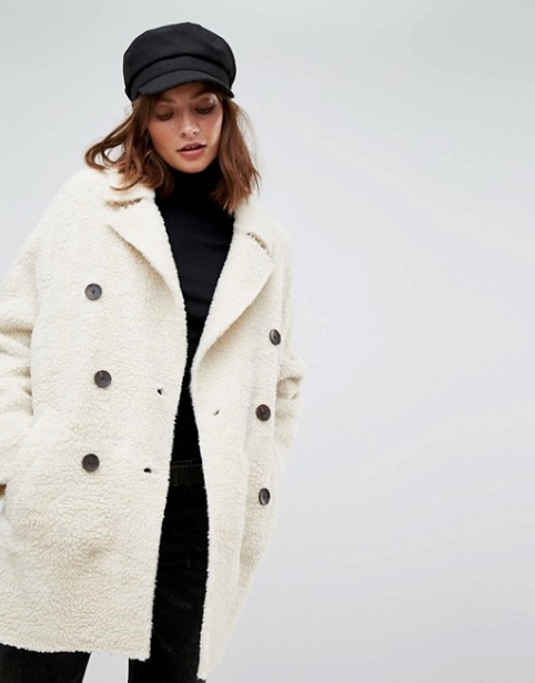 Stradivarius Teddy Coat ASOS