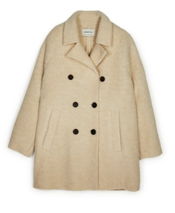Stradivarius Teddy Coat
