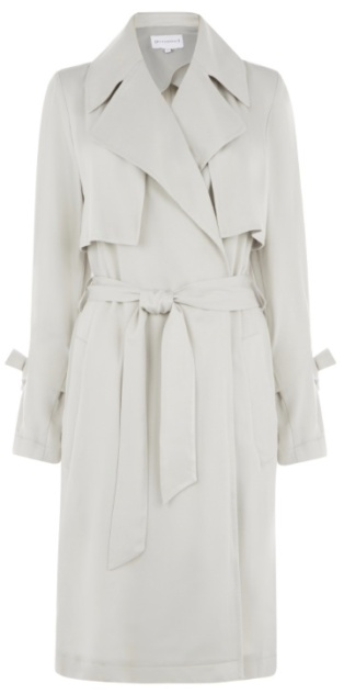 Soft Duster Coat in light grey (£25 in SALE)
