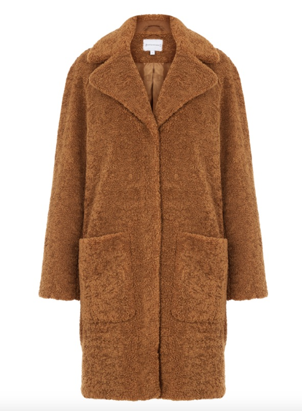 Warehouse Teddy Coat