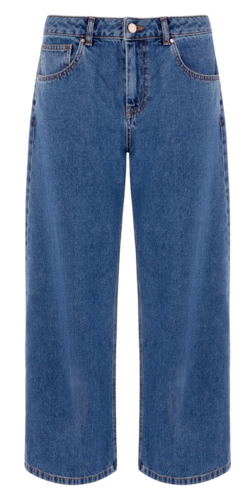 Wide Cut Jeans in indigo (£39.20 in SALE)