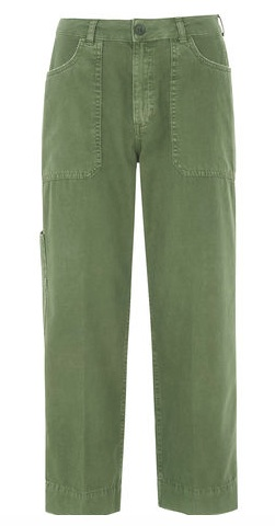 Whistles Cargo Pocket Wide Trouser