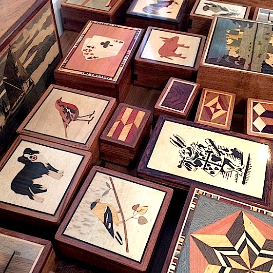 Handcrafted Secret Boxes (from £15)