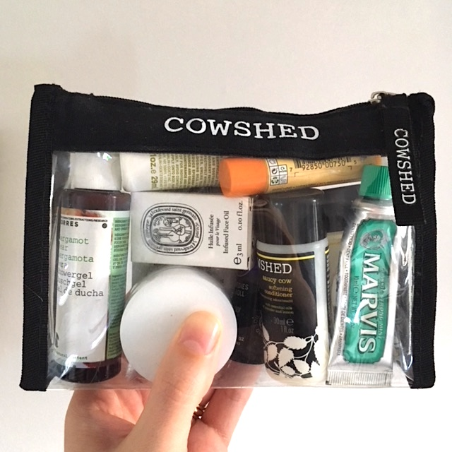 Cowshed Travel Beauty Indie and Pop