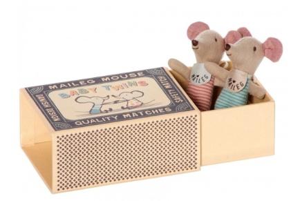 Maileg Twin Mice in Box (£21)