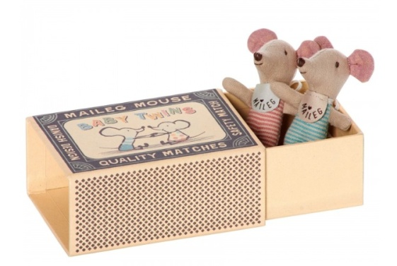 Maileg Twin Mice in Box (£21)