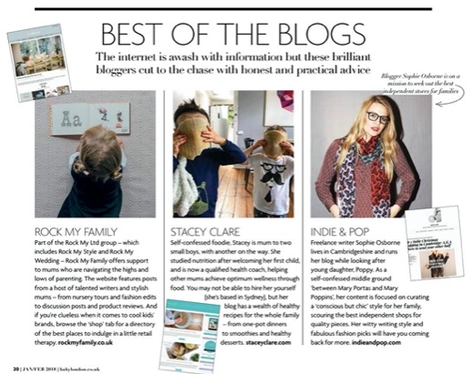 Indie and Pop Best of the Blogs - Baby London Magazine